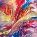 Abstract Art Fluid Painting