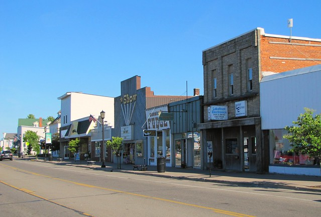 Downtown St Ignace Flickr Photo Sharing