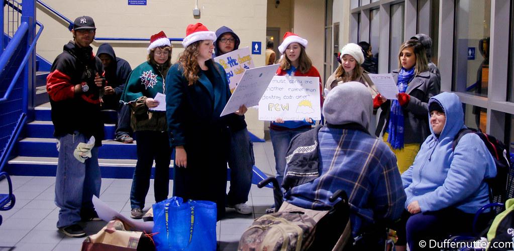 Pcw Flashmob For Homeless Charlotte Nc 11 12 11 58 Jpg