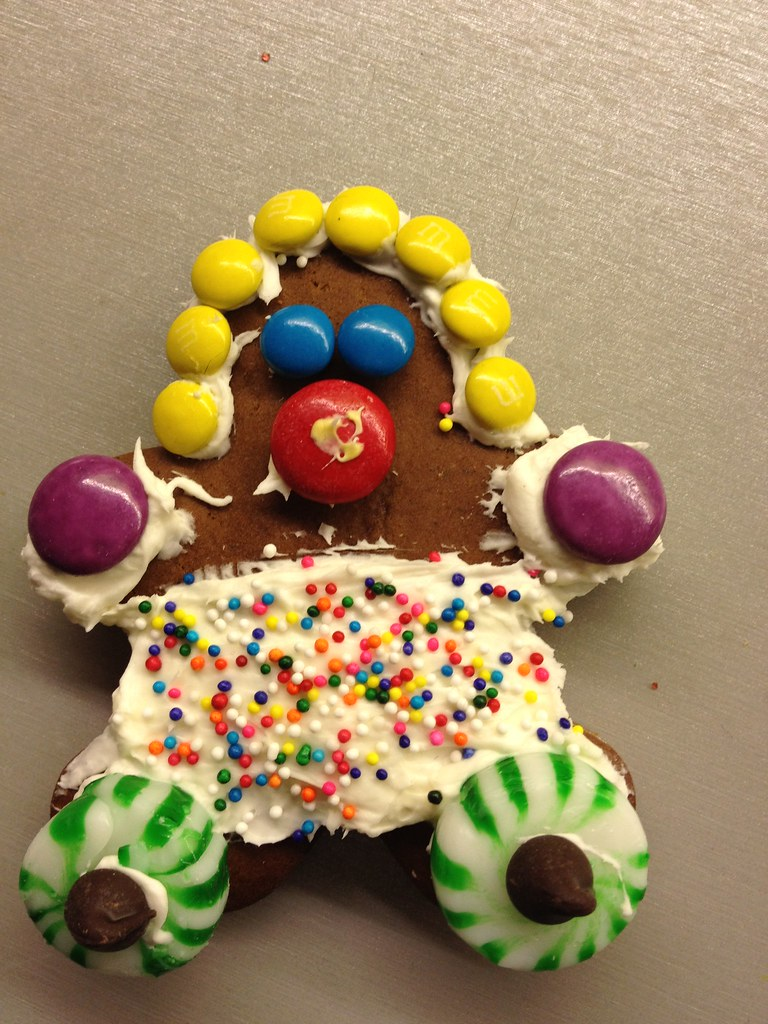 Gingerbread Decorating Party And Ugly Sweater
