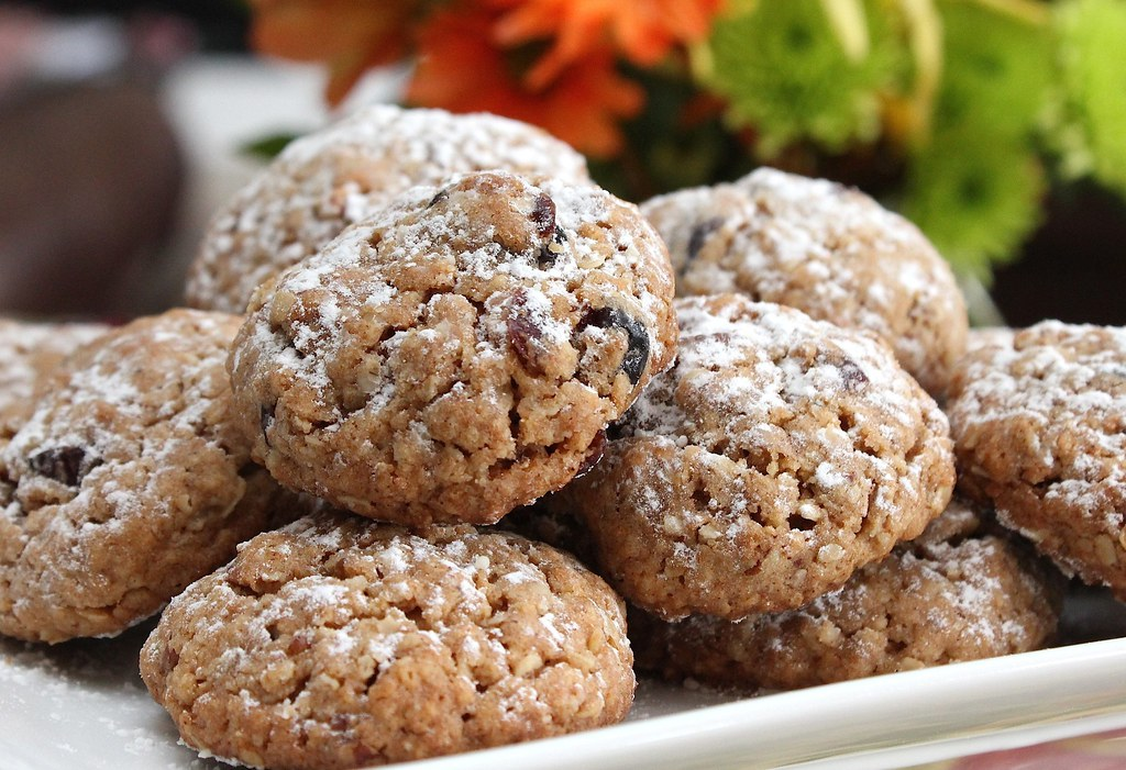 Cardamom-Cranberry Oatmeal Cookies Recipe | INGREDIENTS: 1 p ...