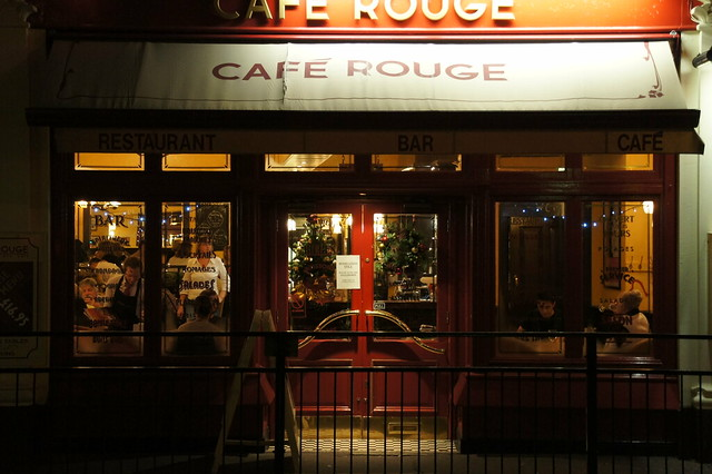 Cafe Rouge Christmas Day Menu Worcester