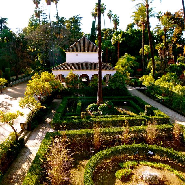 Jardines del real alc zar de sevilla flickr photo sharing for Jardines del eden sevilla