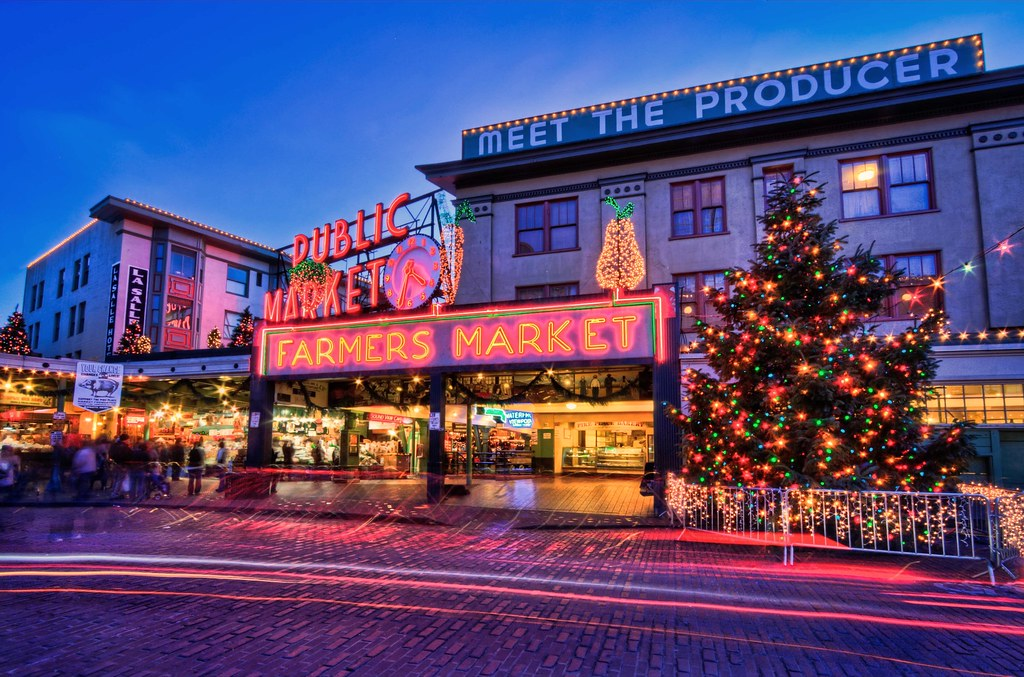 Christmas at Pike Place Market | Wow! Highest Position Explo… | Flickr