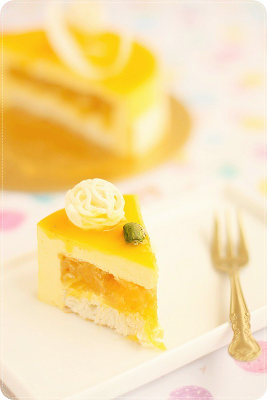 Yuzu Mousse Cake Recipe