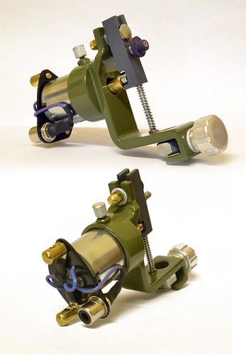 how to build rotary machine