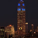 Empire State Building suited up in Blue for the NY Giants