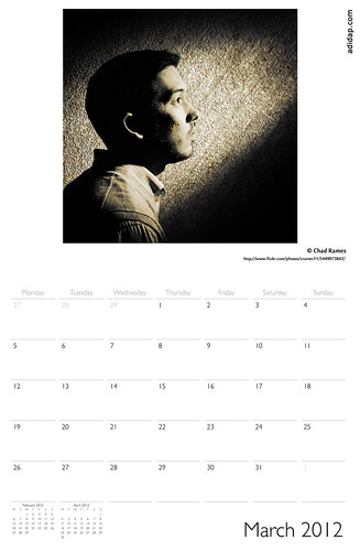ADIDAP Calendar 2012 UK March | by akhater