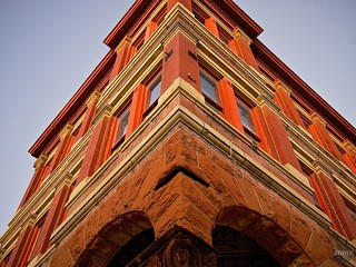 Ornate Facade, Taylor National Bank - Taylor, Texas | by atmtx