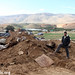 Demolition in Khirbet Humsa, Jordan Valley, 12.01.2012