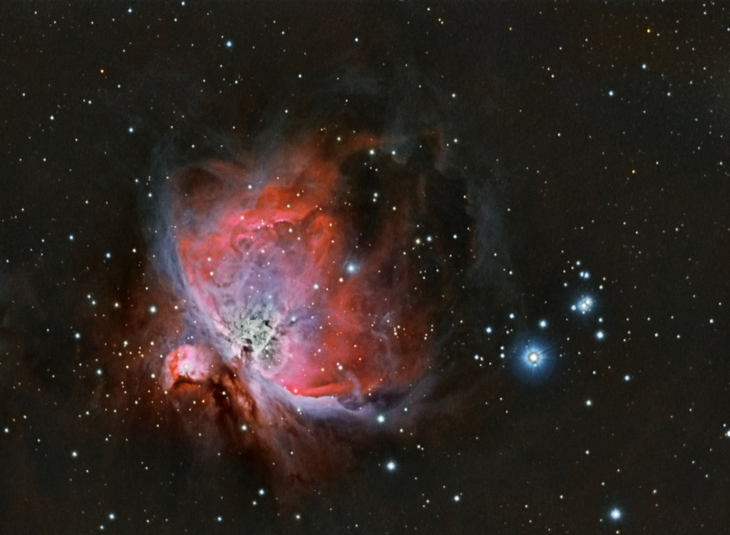 M42 - Orion Nebula | More data added to make a HDR ...