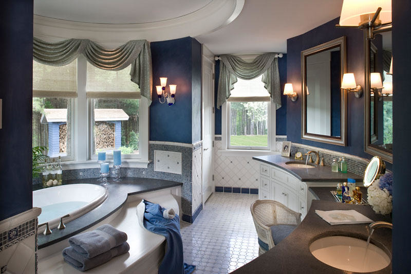 Lake house in new hampshire by cebula design master bath flickr - Master bathroom design and interior guide ...