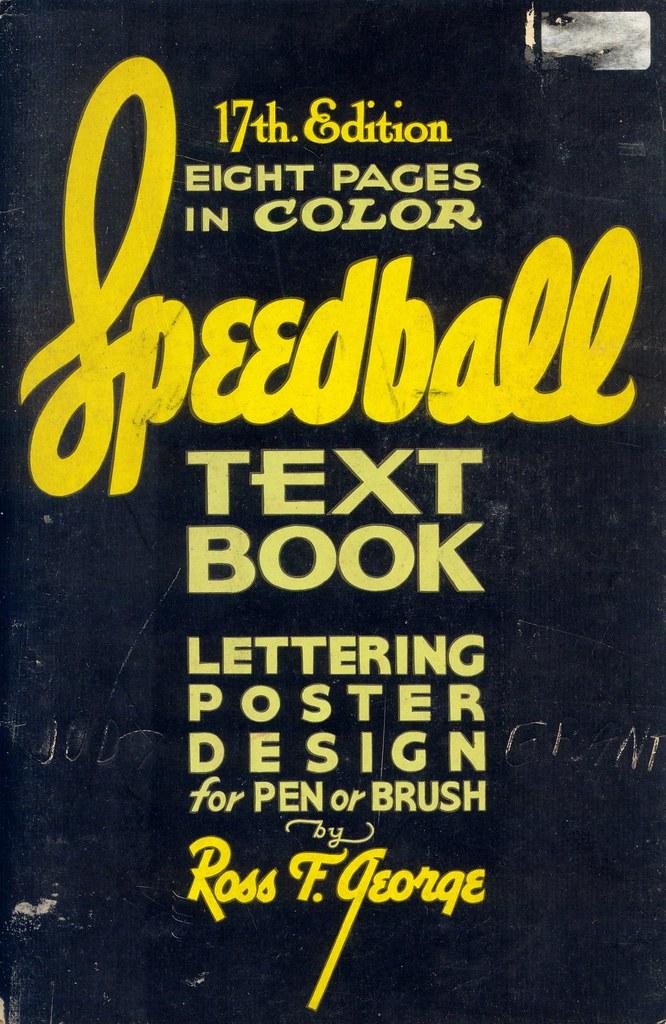 Speedball Textbook P0 Patricia M Flickr