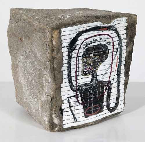 Basquiat Rock Art Paris After Jean Michel Basquiat