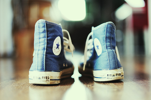 converse. | by foster the people.