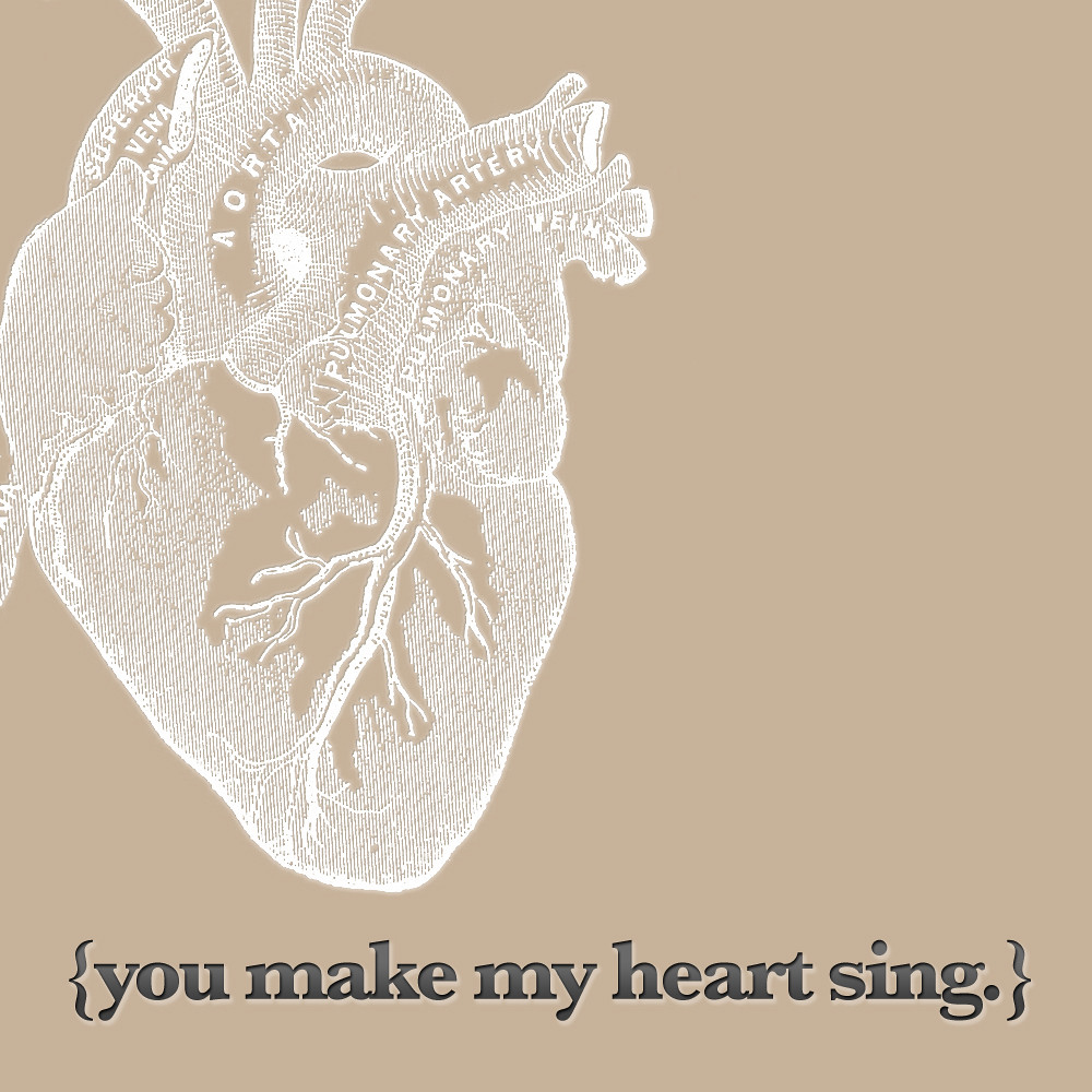 you make my heart sing valentines you make my sing this free s day 7949