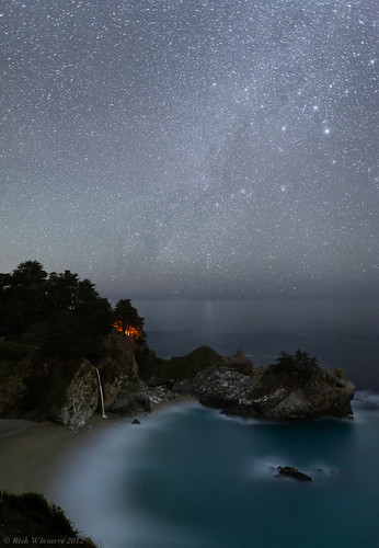 Camping Under the Stars- McWay Falls | by Rick Whitacre