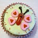 Lovely butterfly cupcake