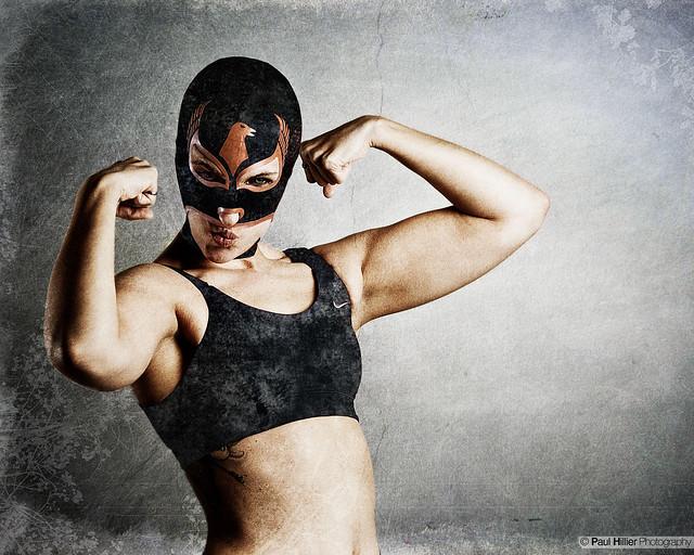 Sexy ladies lucha libre