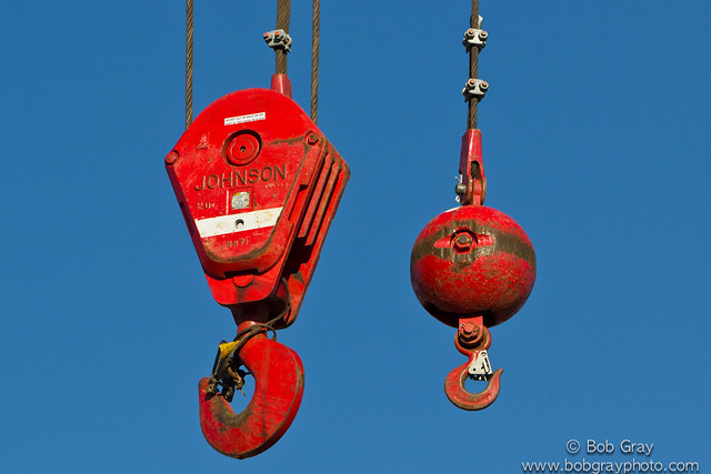 main hook and headache ball | flickr - photo sharing! crane ignition wiring diagram t300 kenworth