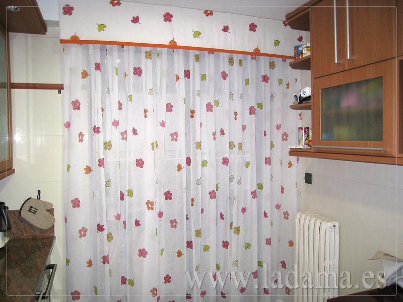 Cortina de cocina con volante visita nuestra web www - Volantes de cortinas ...