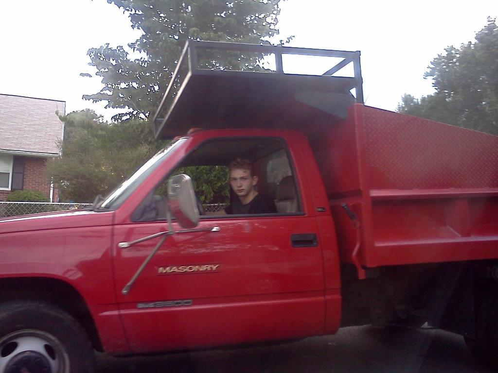 Irish Traveller Gypsy Red Dump Truck Paving Scammer Flickr