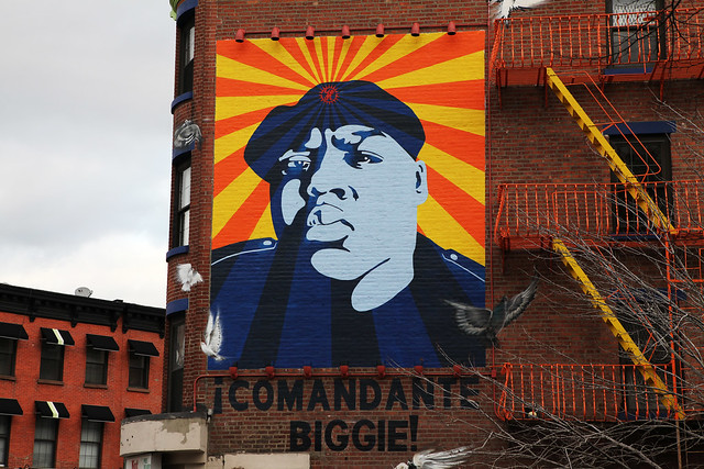 Biggie mural brooklyn fort greene flickr photo sharing for 2pac mural new york