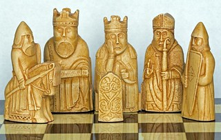 Isle of Lewis Chess Pieces | by Dr Steven Murray