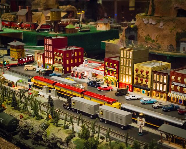 Model train exhibit at union station jobs