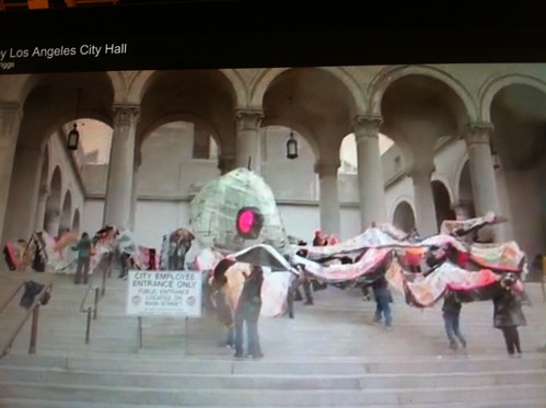 Occupus rehearsal from video by Owen Driggs | by LAMilazzo