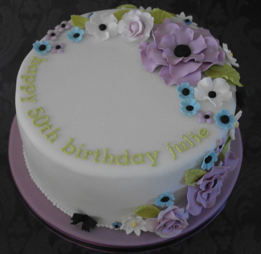 50th Birthday Cake For Julie