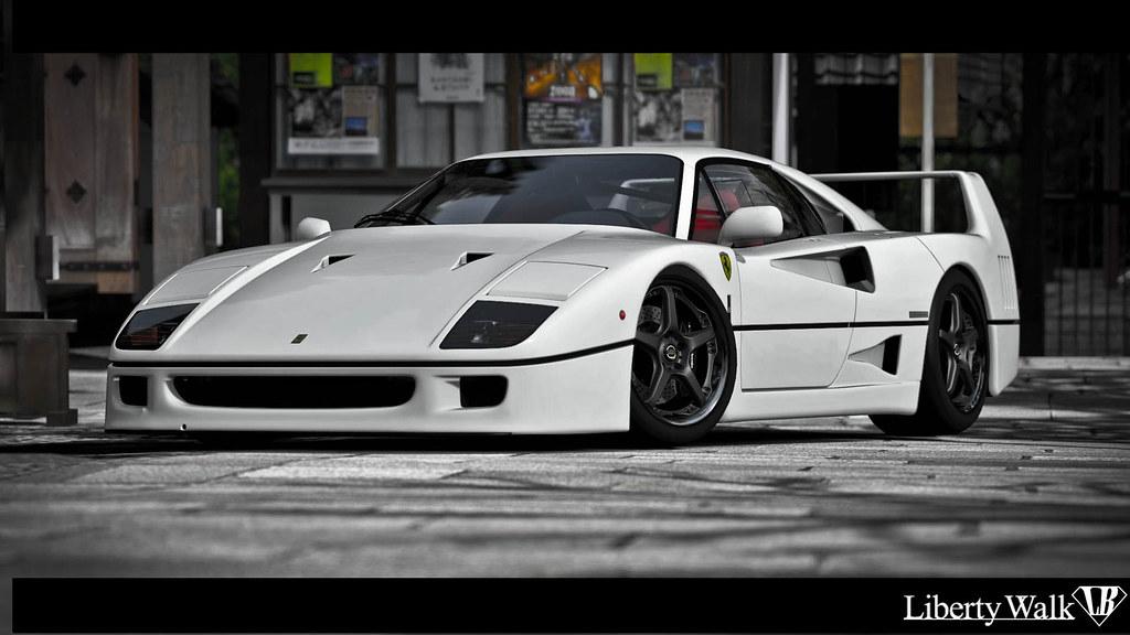 Ferrari 458 White >> Liberty Walk F40 | Ferrari F40 inspired by Liberty Walk Tuni… | Flickr