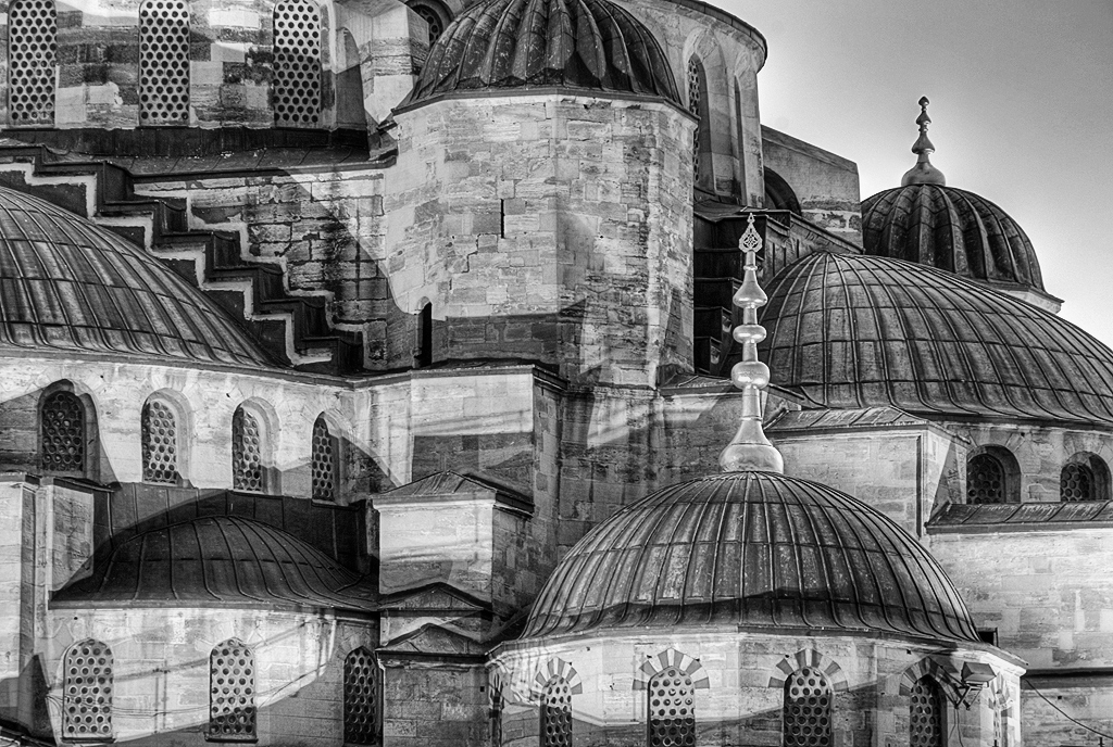 Hagia Sofia, black and white | Call it an epiphany, but I ...