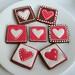 More Valentine Cookies