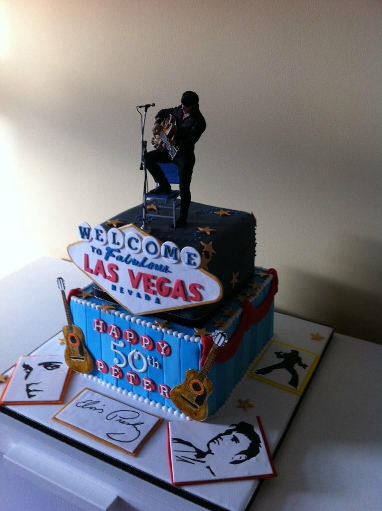 Elvis Cake Lea Layton Flickr