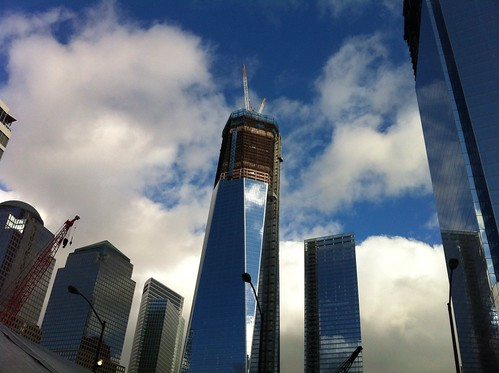 1 World Trade Center under construction | by NAParish