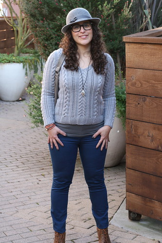 Knit Style: Cabled Pullover | by tentenknits