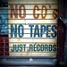 no cd's no tapes just records