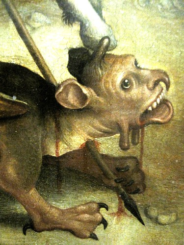 Upper Rhine, end of 15th c., St George vs. the Dragon, detail | by Medieval Karl