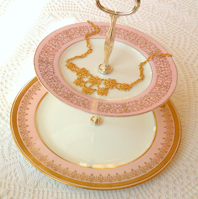 Vintage Cake Stand Rods