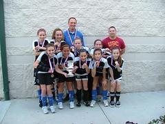 u12 girls godzilla champion regional 2010