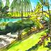 View from the Ritz-Carlton Grande Lakes, Orlando, Florida