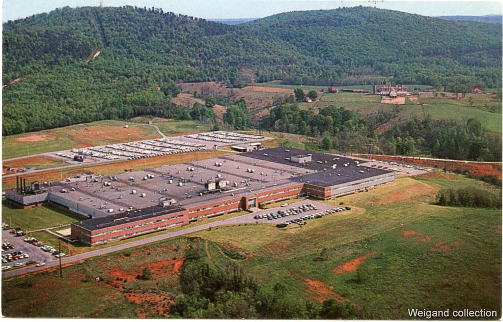 Lynchburg Virginia Post Card General Electric Plant Flickr
