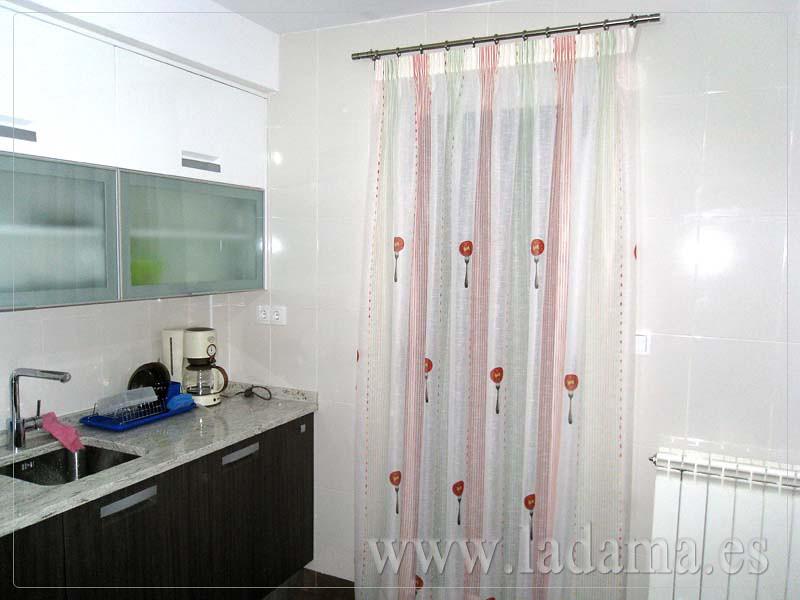cortina con barra para cocina visita nuestra web www