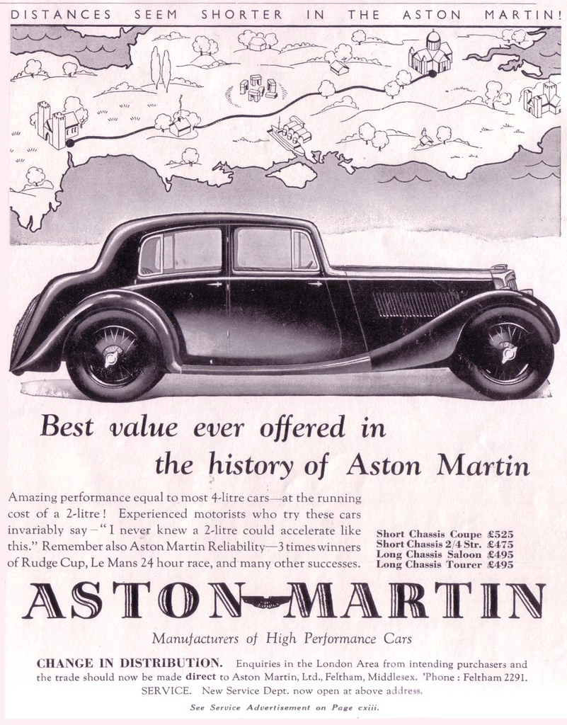 Old car ads from magazines newspapers