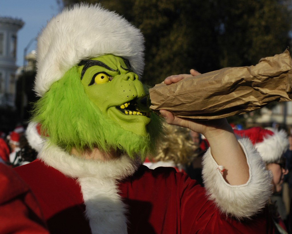 You're a Drunk One, Mister Grinch | Tom Hilton | Flickr