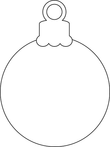 Christmas Ornament | Add your own colours! Feel free to ...