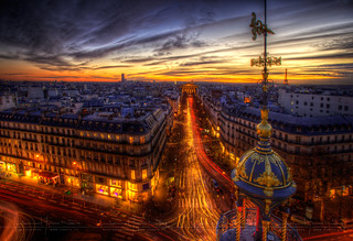 paris je t'aime encore HDR ~ Paris ~ France ~ Haussmann | by '^_^ Damail Nobre ^_^'