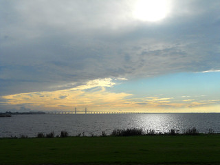 Øresund Bridge from Malmö | by Can C.