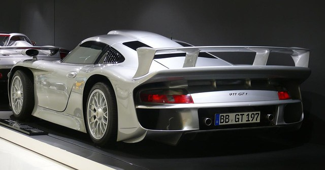 porsche 911 gt1 stra enversion 1997 silver hl flickr photo sharing. Black Bedroom Furniture Sets. Home Design Ideas